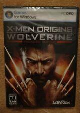 X-Men Origins: Wolverine Uncaged Edition (Game for Windows Live PC, DVD) NEW