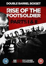 Rise of The Footsoldier Parts 1 and 2 UK Reg2 BOXSET DVD Foot Soldier I II