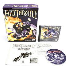 Full Throttle par LUCASARTS Entertainment, 1995, aventure, Big Box, 1996