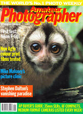 AP  magazine with  Nikon F-601 & 105mm micro Nikkor  tested    13th  Oct  1990