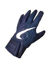 Nike Men's Baseball Batting Force Elite Gloves Navy Leather Size L Sporte