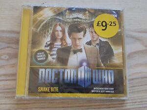 Doctor Who Snake Bite CD BBC Audiobook