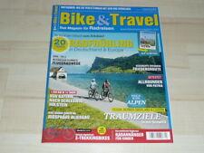 Bike & Travel Magazin Mai Juni 3/2021 Radreisen Fahrrad - Zeitschrift NEU !!!
