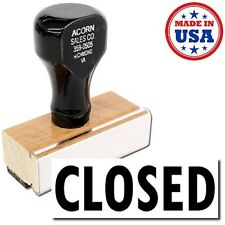 NEW USA Made - Closed Rubber Stamp