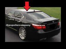 LE21107 Window Visors Sun Guard Vent Wide Deflectors For Lexus LS Sd 2007-2017
