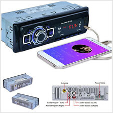 Car Stereo Audio MP3 Player Radio Bluetooth Speaker Card Reader USB/SD/AUX/MMC