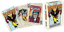 Wolverine set of 52 playing cards (nm)