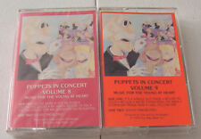 Puppets in Concert Volume 8&9-One Way Street 1992 audio cassettes Mark Bradford
