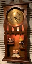 Vintage United Sessions Electric Wall Clock, Made in the USA.