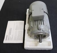 SIEMENS Bremsmotor 0,55kW 1LC5080-4AC22-ZK17 Bauform IMB14 n=1390U/min 220/380VA