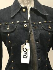 Dolce & Gabbana Denim  Jacket Ladies Large UK14 US10 IT46 EU42 RRP £499