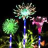 Solar Flower Color Change Garden Decor Stake Outdoor Landscape Patio LED