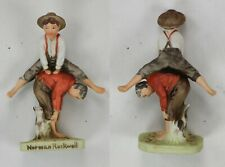 Vintage 1979 Norman Rockwell Dave Grossman New 3 Figurine Lot