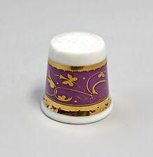 Kämmer PORCELLANA ditale Fiore Ornament oro/viola 2,5x2,6cm 88235