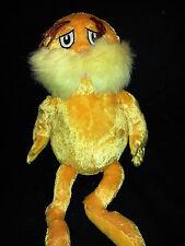"Lorax Dr Seuss Gold Kohls Care Plush Stuffed Animal Lovey Toy 16"""