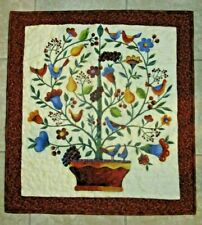 "Hand Made Art Quilt / Wall Hanging  ""Jubilee Tree"" ~ 24"" x 26"""