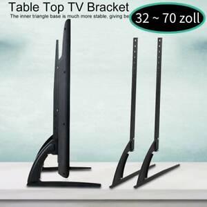 32-70 Zoll TV Ständer Höhenverstellbar Standfuß Fernseher Halterung MMP 05
