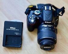 Nikon D5100 16.2MP Appareil Photo Reflex Numérique-Noir (Kit avec AF-S VR DX Objectif 18-55 mm)