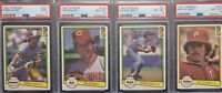 1982 Donruss HOF LOT | 4 cards | Includes Yount #510 PSA 9 MINT, Seaver #148 +++