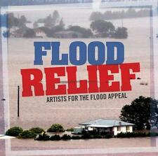 Flood Relief Johnny Cash Tom Petty John Mayer Troy Cassar Daley Beyonce 3 CDSet