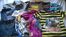 bundle boy 3-4 years short sleeved t shirts tops Next GAP dinosaur shark purple