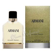 Armani Eau Pour Homme by Giorgio Armani Eau de Toilette Spray Men 3.4oz *New
