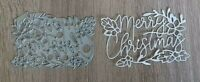 Sizzix Die Cutter Merry Christmas Thinlits fits Big Shot Cuttlebug