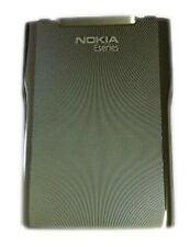 Nokia E71 Standard Battery Door Back Cover Housing Case Silver Metal Replacement