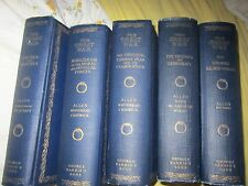 ~~THE GREAT WAR IN FIVE VOLUMES, GEORGE H. ALLEN ~GEORGE BARRIE'S & SONS PUBLISH
