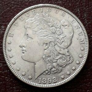 USA Morgan Silver Dollar 1898