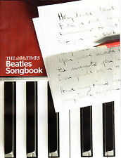 THE TIMES BEATLES SONGBOOK - YESTERDAY - PENNY LANE - HEY JUDE - LET IT BE(2009)