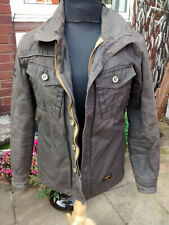 Mens Superdry Double Wax Style atlas adventurers Jacket Size S