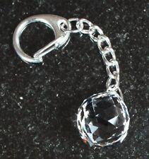 Schlüssel-Anhänger mit Swarovski® Kristall Kugel in Schmuck Box