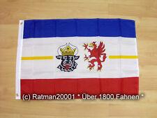 Fahnen Flagge Mecklenburg Vorpommern - 60 x 90 cm
