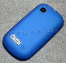 New Dark Blue TPU matte Gel skin case cover for Nokia Asha 200 201