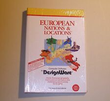 European Nations and Locations by DesignWare for the Apple II+, IIe, IIc - NEW