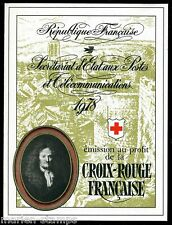 FRANCE COMPLETE BOOKLET SC#B512a YV#2027 RED CROSS 1978