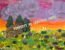 ALLELUIA Floral Landscape by CHRISTINA JOHNS Fine Art High Quality PRINT New!