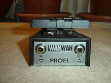 Proel Wah Wah, Made in Italy, Vintage Guitar Pedal