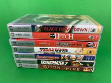 Lot 7 Sony PSP UMD Video Movies Reign Fire Not Teen Movie Transporter 2 Sky High