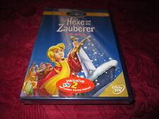DVD - Die Hexe und der Zauberer - Special Collection - Walt Disney - Z4 - NEU