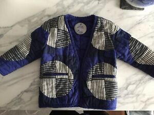 Haptic Lab baby quilted coat