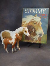 **MISTY & STORMY of Chincoteague** Breyer horse model w/ Vintage SIGNED HC Book!