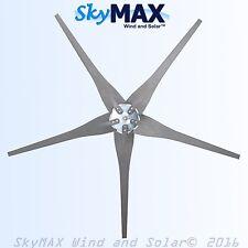 5 Raptor Gen 4 Carbon Fiber Gray Blades and Hub for Wind Turbine Generators