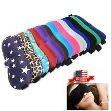 Travel 3D Eye Mask Sleep Soft Padded Shade Cover Rest Relax Sleeping U.S. Seller