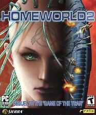 Homeworld 2 (Sierra, Windows PC CD-ROM, 2003) Big Box, Mint - COMPLETE