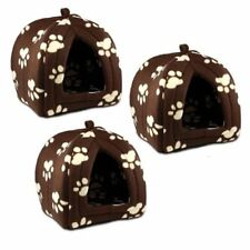 Soft Fleece Pet Hut Set of 3