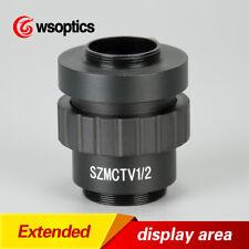 0.5X 1/2 CTV CCD C-MOUNT Lens Adapter Video Camera Trinocular stereo microscope