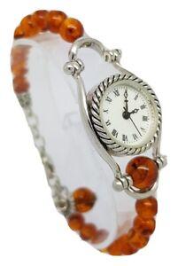 Pass Times Ladies Beaded Bracelet Watch A15