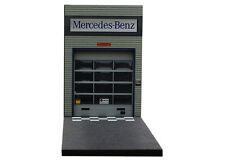 Diorama présentoir Garage Mercedes-Benz moderne  - 1/43ème - #43-2-V-X-006